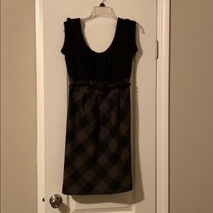 Maurices dress- black and gray